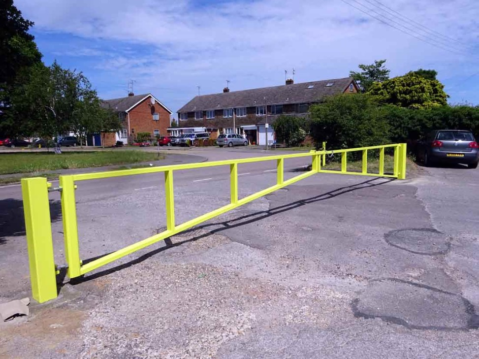 security barrier gate